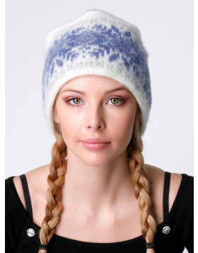 Ladies Hat. 100 % Icelandic wool.