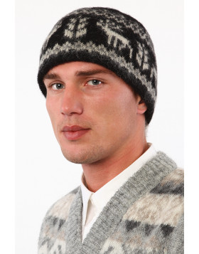 Unisex Wool Toque. 100 % Icelandic wool.