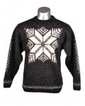 Crew Neck Wool Sweater for Men