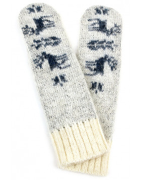 Soft and warm mittens. 100  % Icelandic wool.