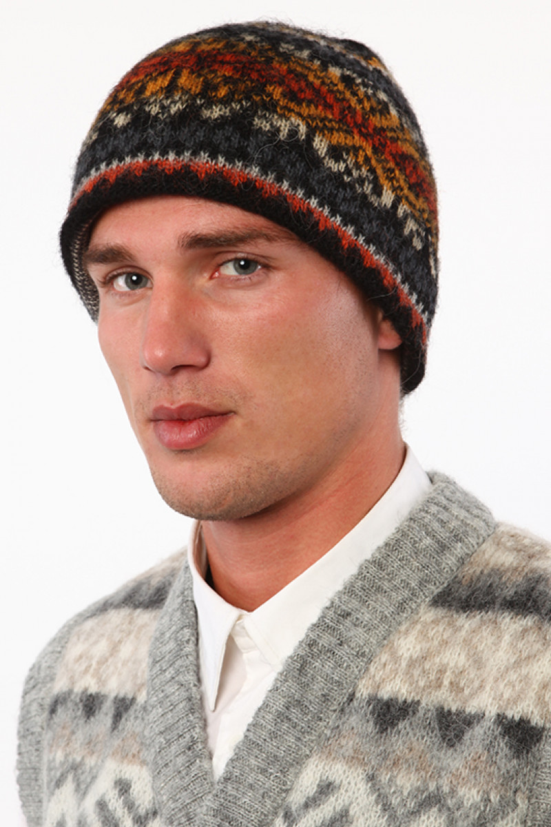 Icelandic Wool Hat (Beanie) for men