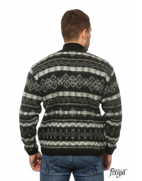 Men's Button Wool Cardigan V-neck