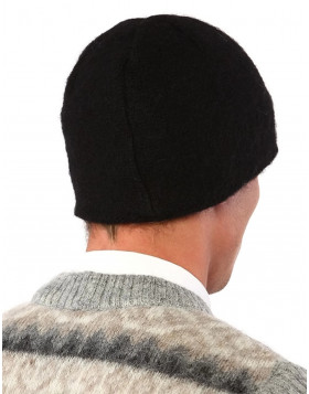 Men's Wool Hat (Beanie) black
