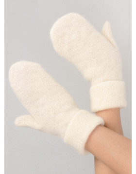 Fleece lined soft and warm mittens. 100 % Icelandic wool. Made in Canada.