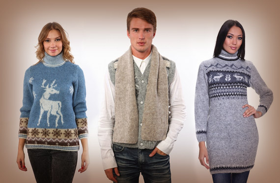 Wool Sweaters and Accessories